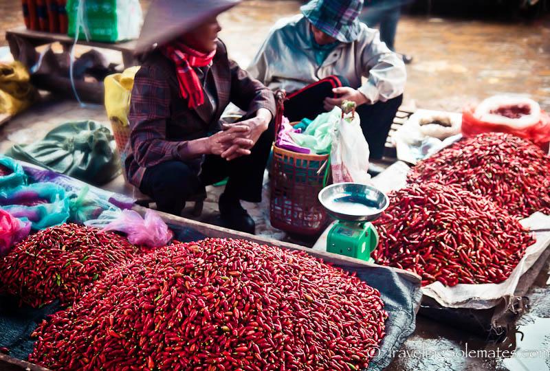 3-Tay Women, Bac Ha Market, Vietnam