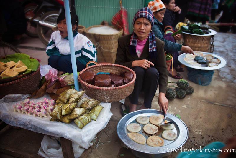 37_Tay Women Vendors, Bac Ha Market, Vietnam