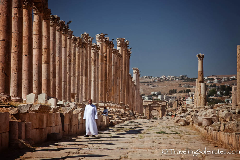 Cardo Maximus (Colonnaded Street), Jerash, Jordan