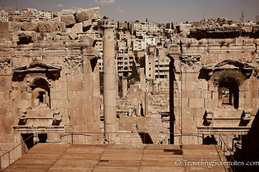 The Great Gate of Artemis, Jerash, Jordan