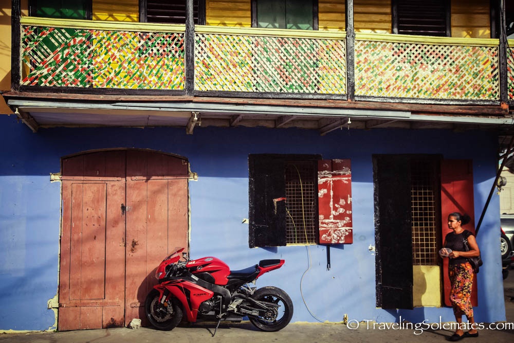 Colorful Building, Roseau, Dominica