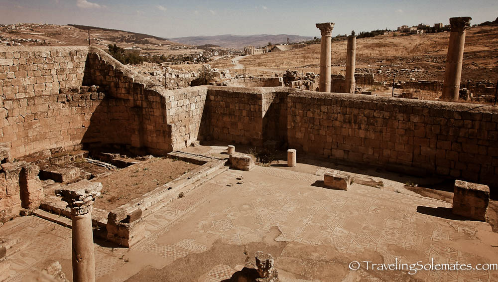 The Church of St. John,, Jerash, Jordan