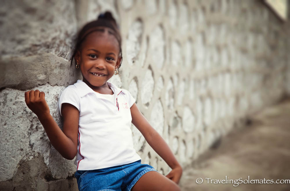 Little Girl,  Roseau, Dominica