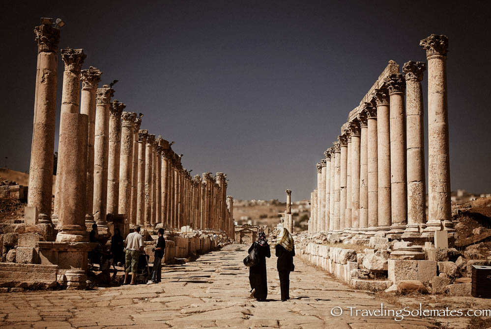 04_Cardo Maximus (Colonnaded Street), Jerash, Jordan