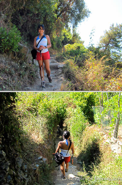 Vernazza-Monterosso Trail, Hiking in Cinque Terre, Italy