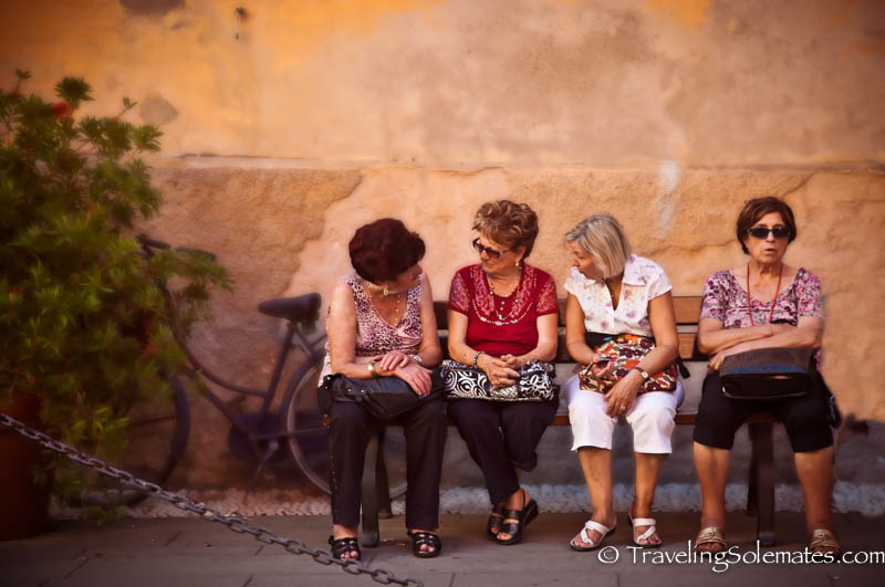 Locals of Monterosso, Hiking in Cinque Terre, Italy