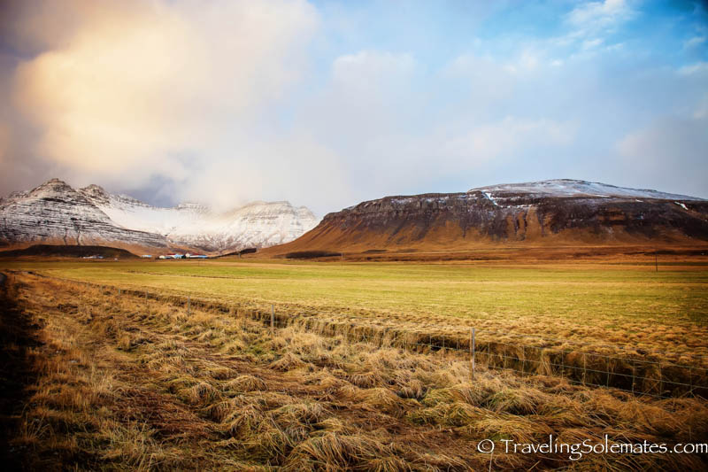Mountains in Snaefellsnes Peninsula, Iceland