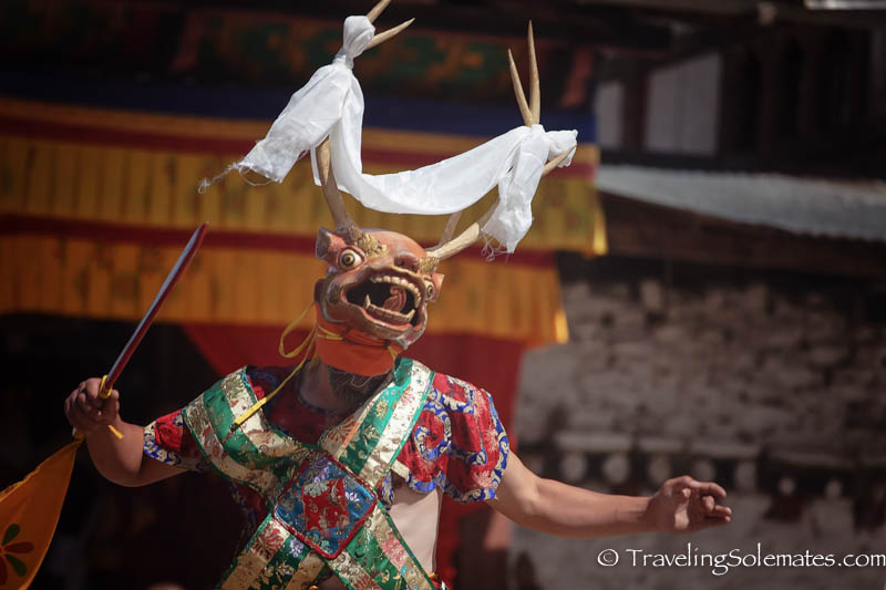 Mask dances of bhutan