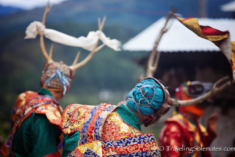 Bhutanese Festival Mask Dances In Bhutan Traveling Solemates