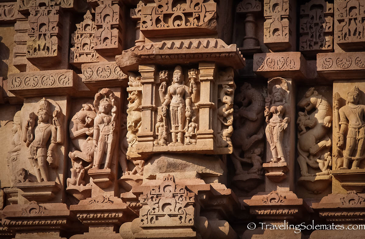 The temples of khajuraho traveling solemates